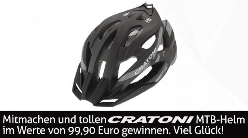 Gewinne einen tollen Cratoni Helm!